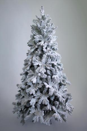 Искусственная ель Барокко снежная премиум