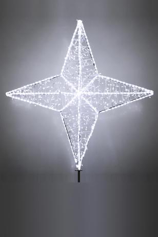 Макушка для ёлки Орион световая
