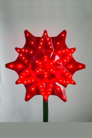 Макушка для ёлки Звезда световая