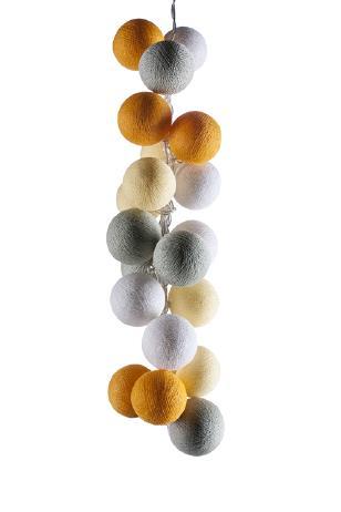 Тайская гирлянда Дивали шарики из ниток