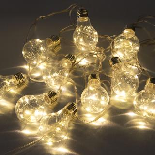 Гирлянда на батарейках Лампочки постоянного свечения