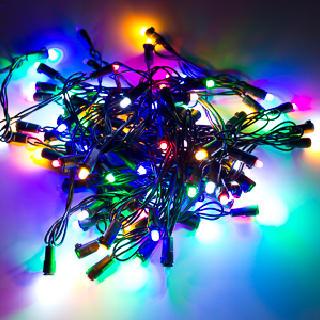 Светодиодная гирлянда Новогодняя с мерцанием