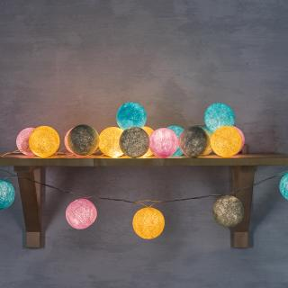 Светодиодные шарики Глазурь из ниток