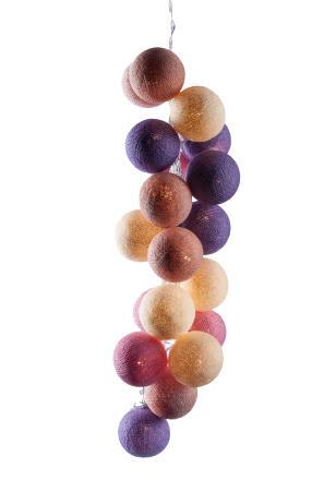 Светодиодные шарики Суфле из ниток