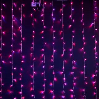Светодиодный занавес RGB Хамелеон с анимацией