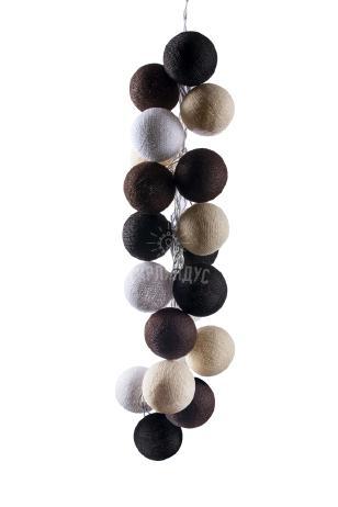 Тайские шарики Капучино из ниток
