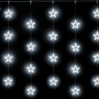 Узорный занавес Звёзды постоянного свечения